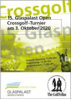 """15. Glaspalast Open 2020  """"Regulär"""""""